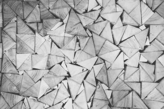 pattern triangles