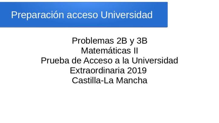 Preparación Acceso Universidad
